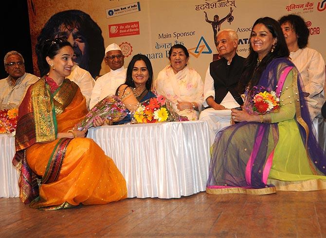Shivangi, Padmini and Tejaswini Kolhapure