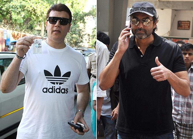 Aditya Pancholi, Bobby Deol