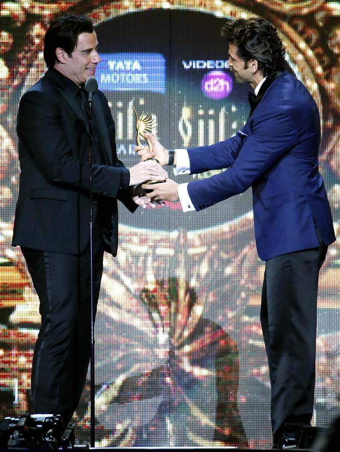 John Travolta and Hrithik Roshan
