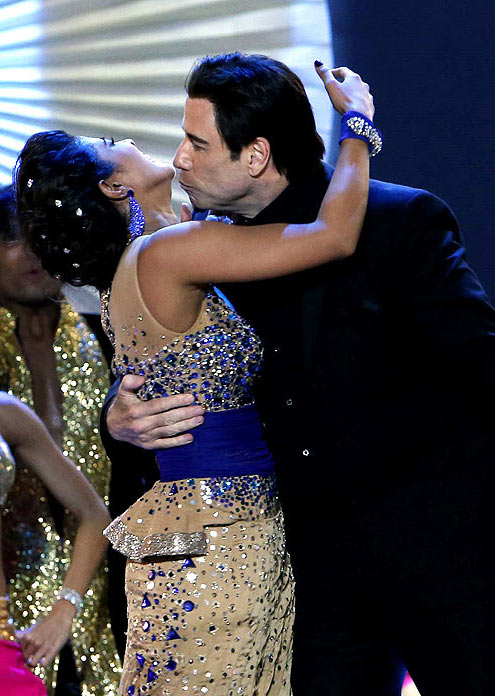 Priyanka Chopra and John Travolta
