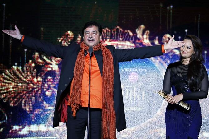 Shatrughan and Sonakshi Sinha