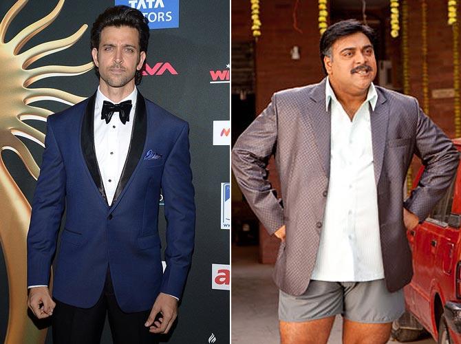 Hrithik Roshan, Ram Kapoor in Mere Dad Ki Maruti
