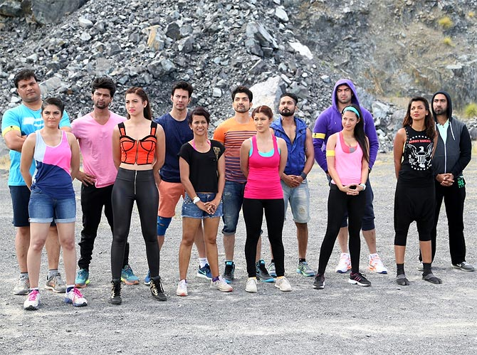 Contestants of Khatron Ke Khiladi