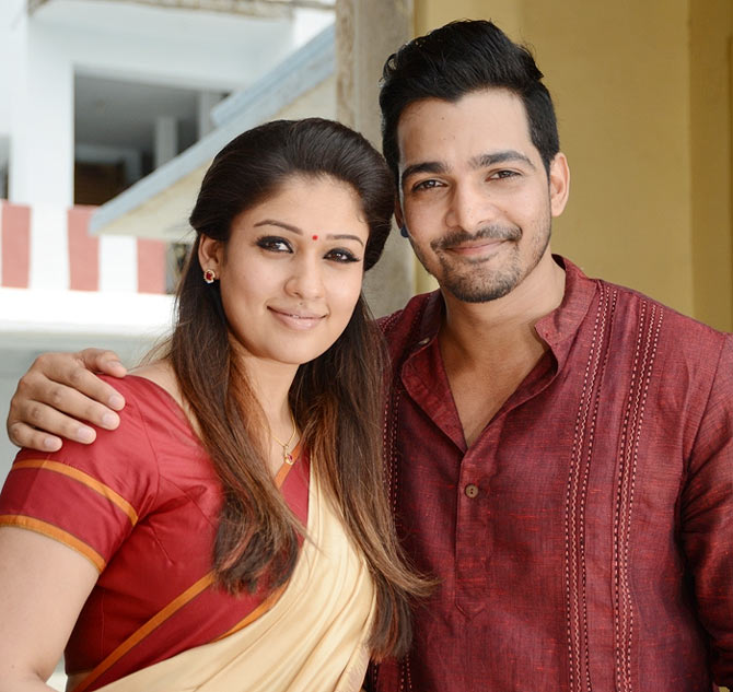 Nayanathara and Harshvardhan Rane in Anamika