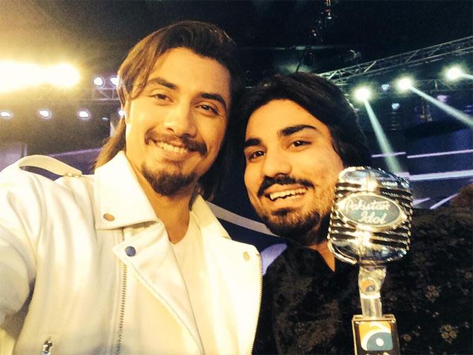 Ali Zafar and Zamad Baig