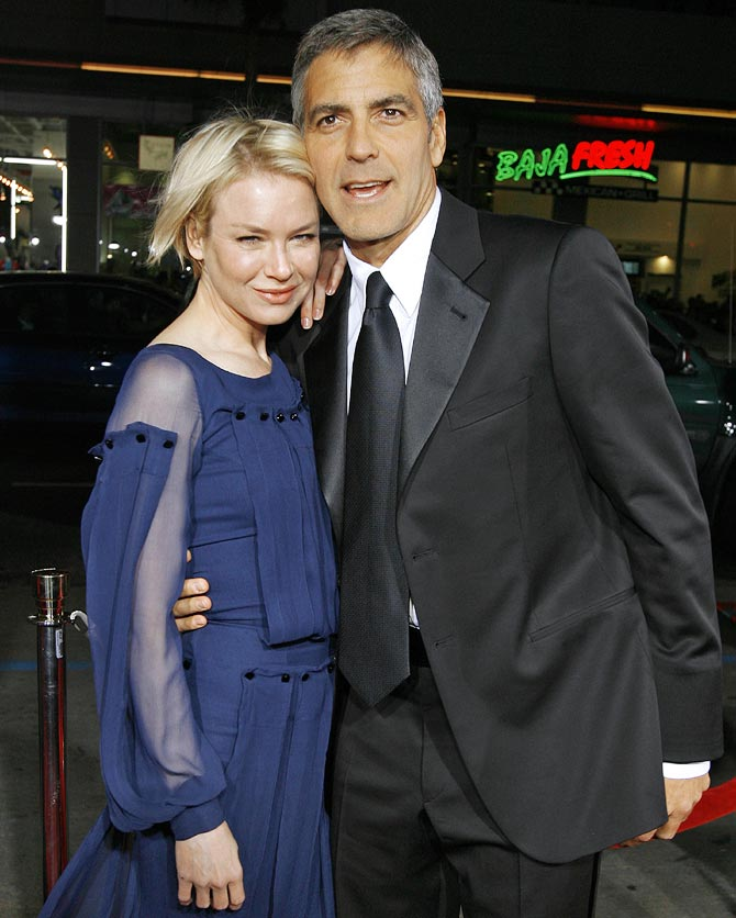 Renee Zellweger with George Clooney
