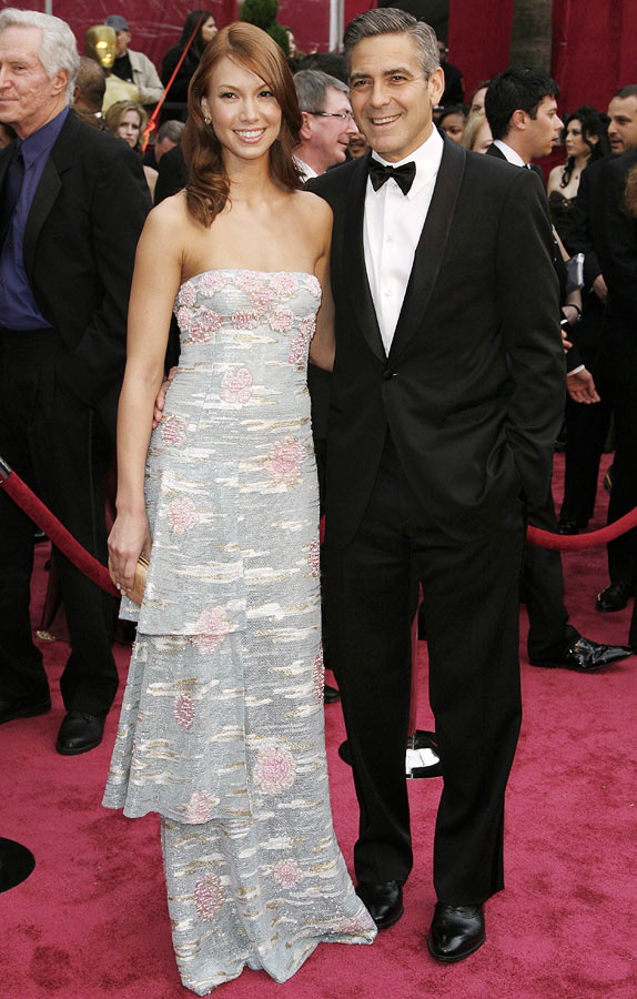 Sarah Larson with George Clooney