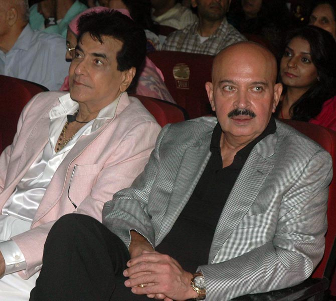 Jeetendra and Rakesh Roshan