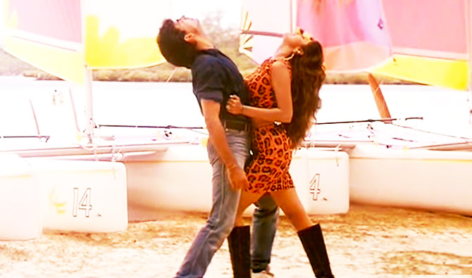 Akshay Kumar with Shilpa Shetty in Main Khiladi Tu Anari