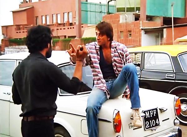 Sanjay Dutt in Sadak