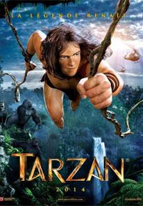 The Tarzan (2014) poster