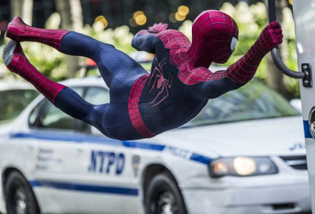 A scene from The Amazing Spider-Man 2: Rise Of Electro