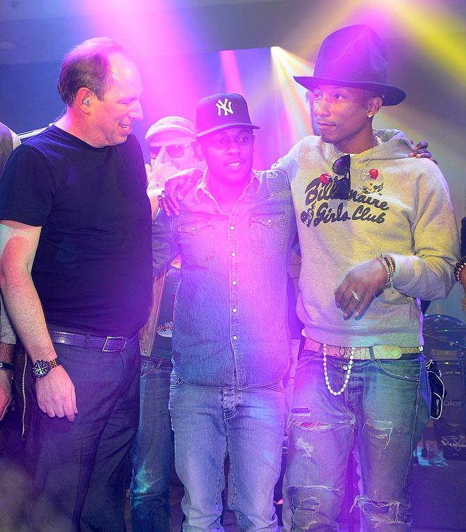 Hans Zimmer, Kendrick Lamar and Pharrell Williams