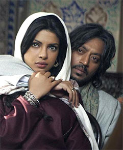 Priyanka Chopra and Irrfan in 7 Khoon Maaf