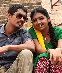 Siddharth and Lakshmi Menon in Jigarthanda