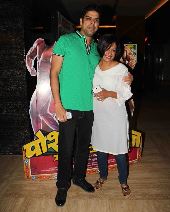 Murali Sharma and Ashwini Kalsekar