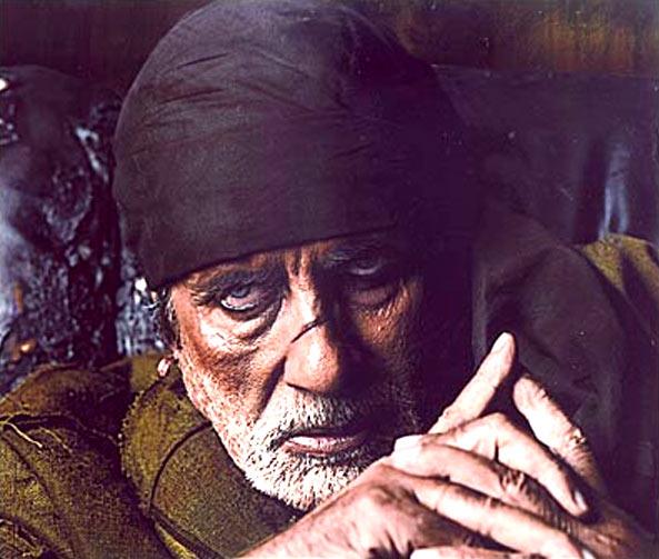 Amitabh Bachchan in Ram Gopal Varma Ki Aag