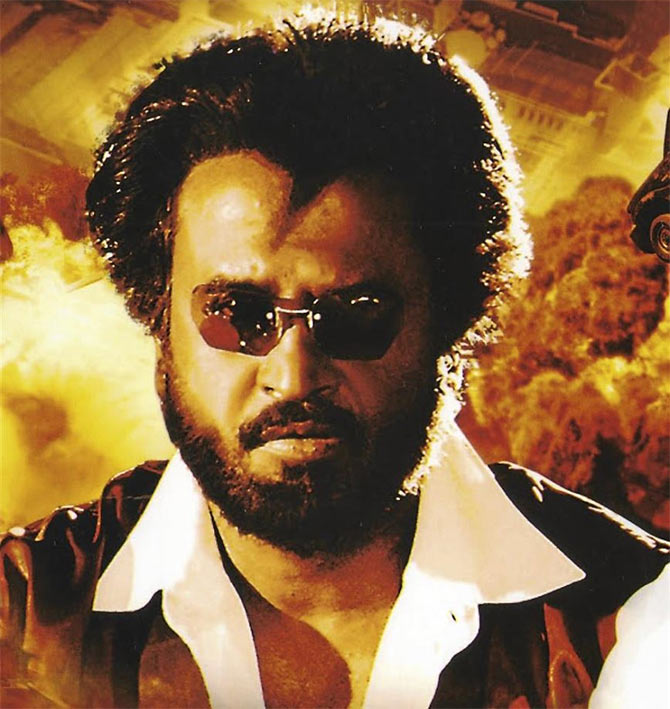 Rajinikanth in Baasha