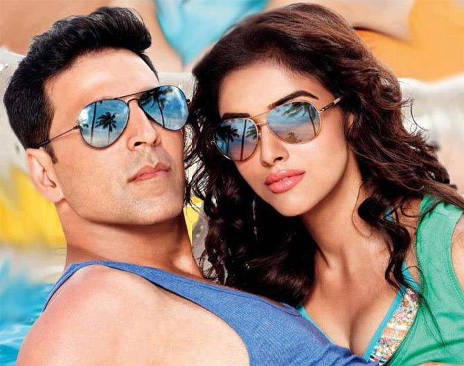 Akshay Kumar and Asin in Housefull 2