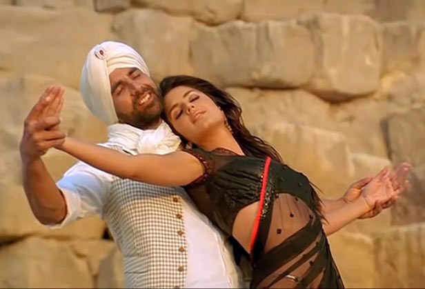Akshay Kumar, Katrina Kaif in Singh Is Kinng