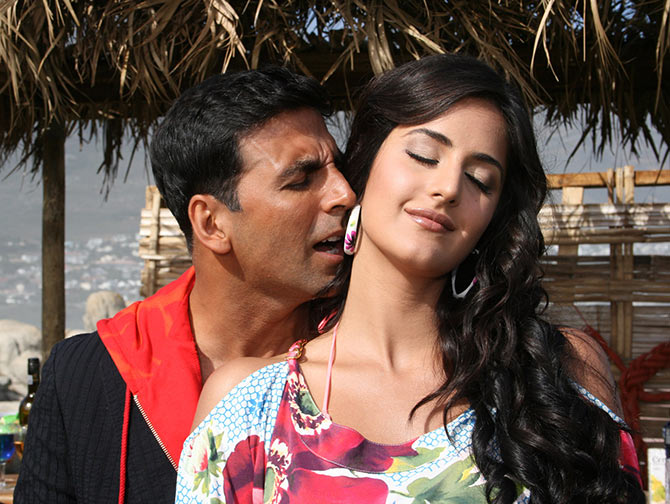 Akshay Kumar, Katrina Kaif in Welcome