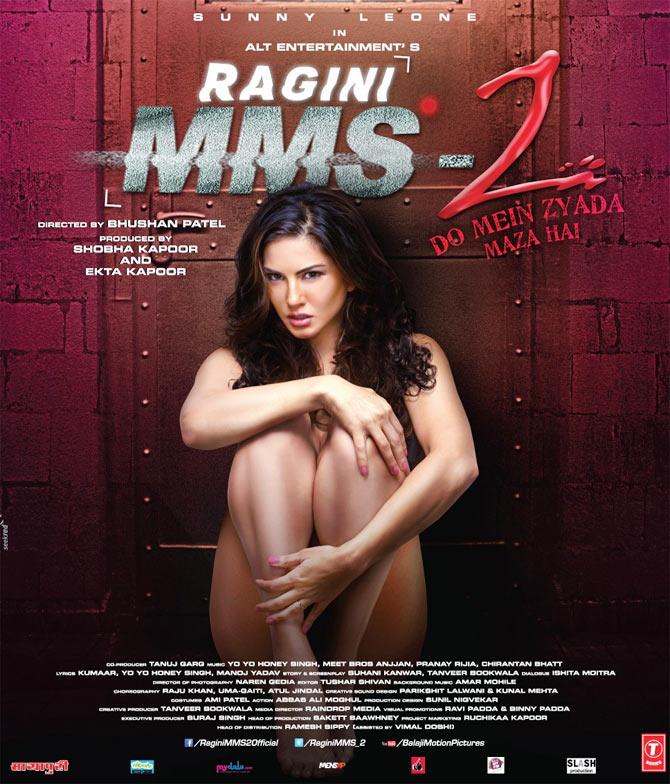 Movie poster Ragini MMS 2