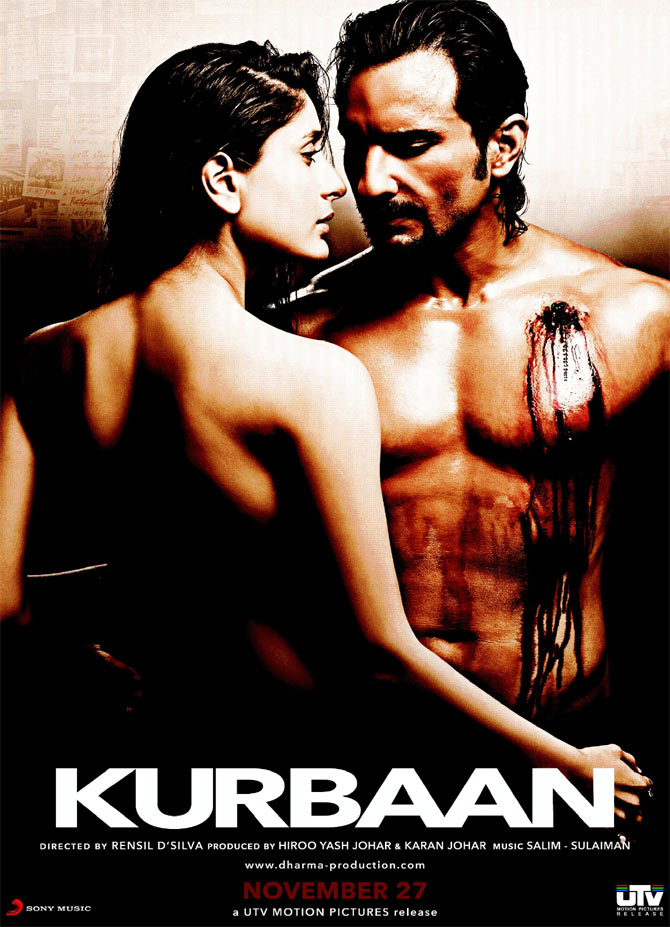 Movie poster of Kurbaan