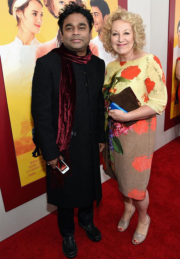 AR Rahman and Juliet Blake