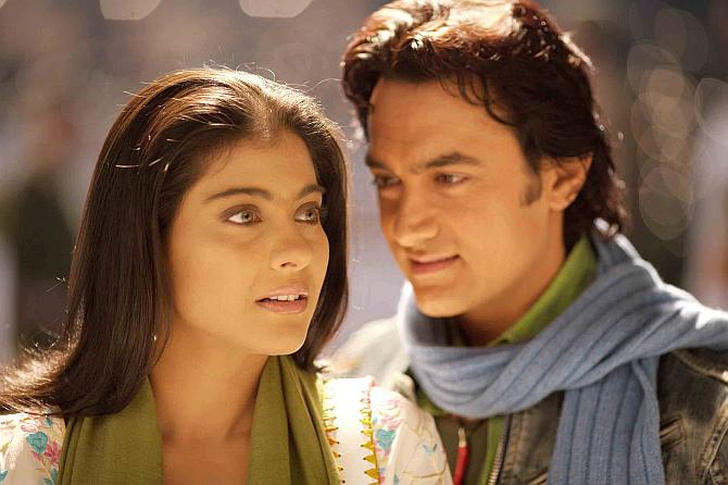 Kajol and Aamir Khan in Fanna