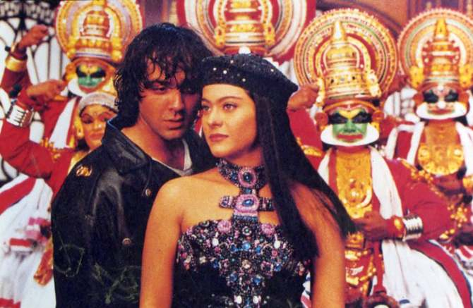 Bobby Deol and Kajol in Gupt