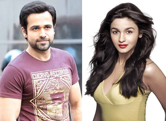 Emraan Hashmi and Alia Bhatt
