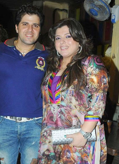Bakhtiyar and Delnaaz Irani