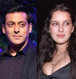 Salman Khan and Isabel Kaif