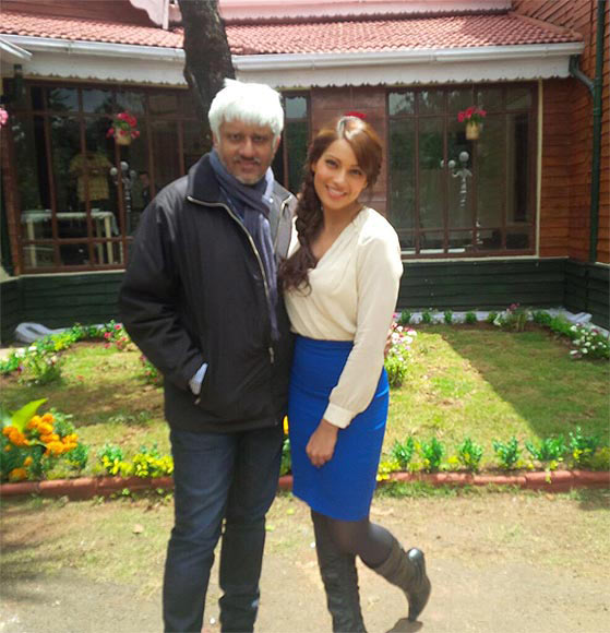Bipasha Basu and Vikram Bhatt