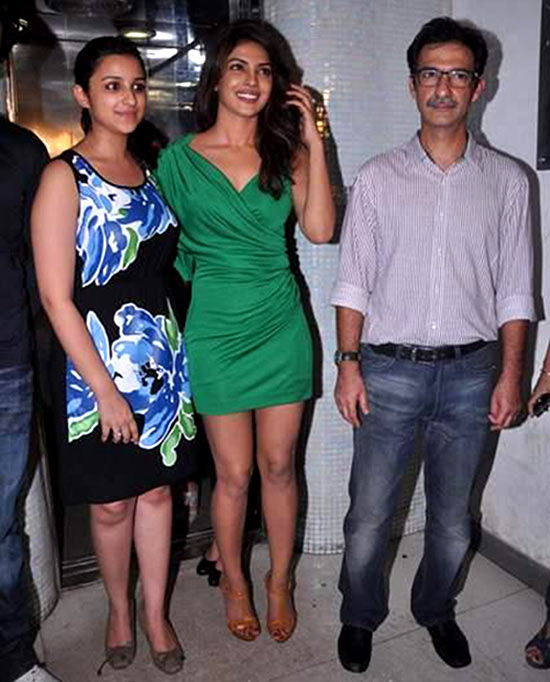 Parineeti Chopra, Priyanka Chopra and Habib Faisal
