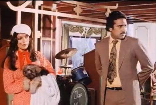 Zeenat Aman in Lawaaris