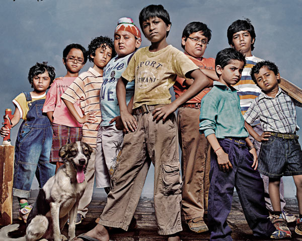 Movie poster of Chillar Party