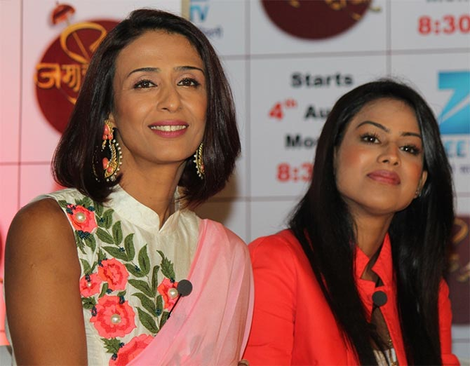Achint Kaur and Nia Sharma