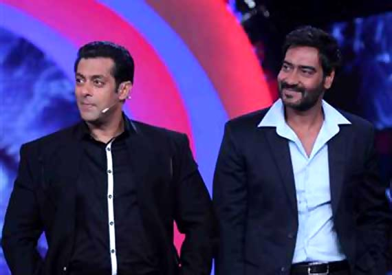 Salman Khan and Ajay Devgn