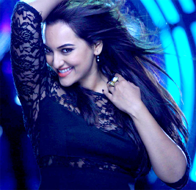 Sonakshi Sinha in Holiday