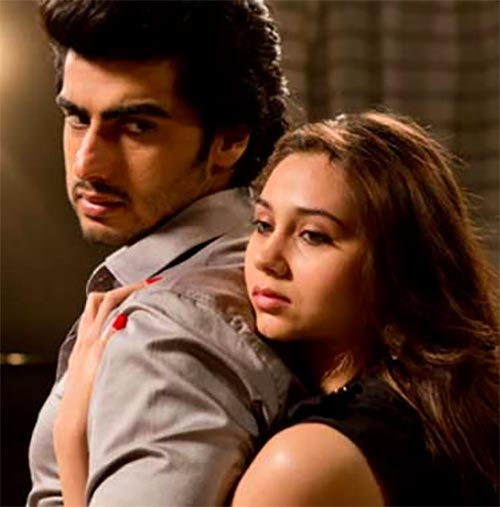 Arjun Kapoor and Sasha Agha in Aurangzeb