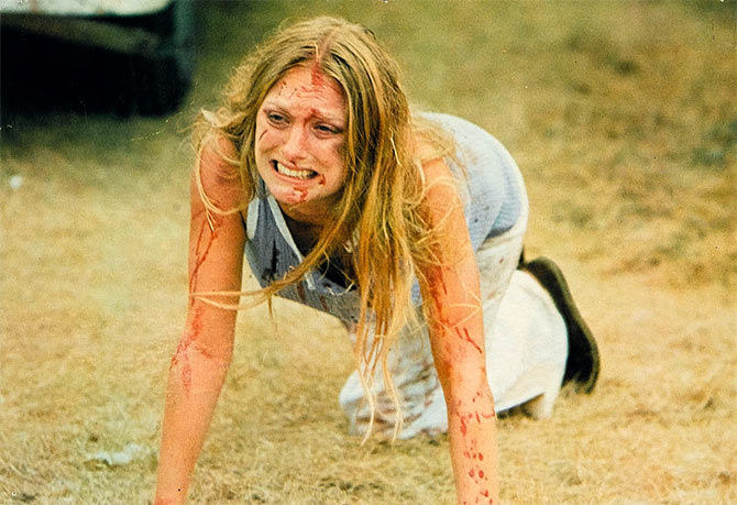 Marilyn Burns in the original Texas Chainsaw Massacre