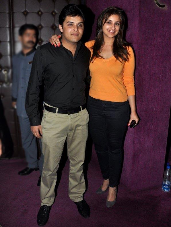 Parineeti and Shivang Chopra