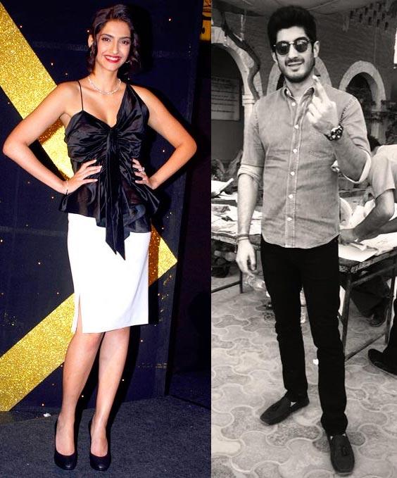Sonam and Harshvardhan Kapoor