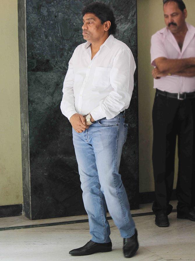 Johnny Lever, inset: Dharmesh Tiwari