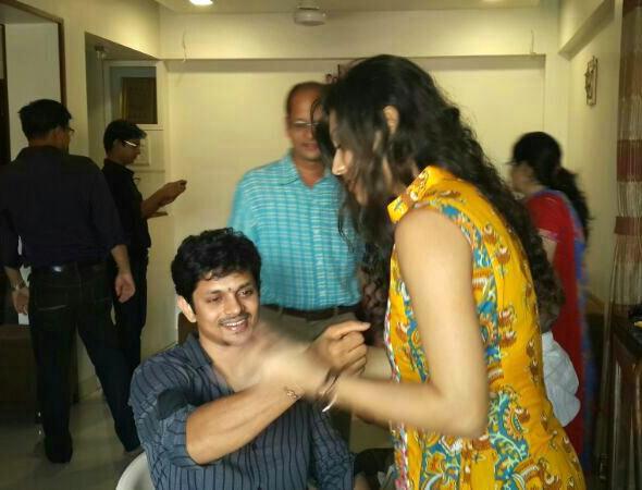 Jaysheel with Drashti Dhami