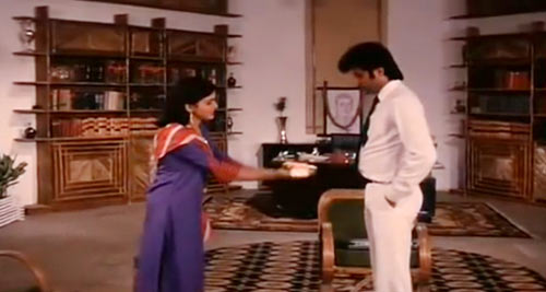 Khushboo and Anil Kapoor in Meri Jung
