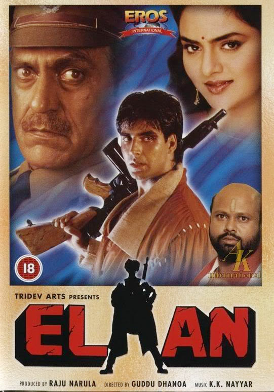 Movie poster of Elaan