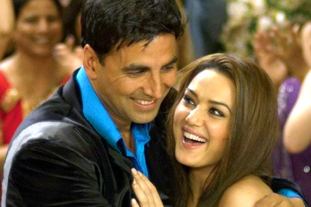 Akshay Kumar and Preity Zinta in Jaan-e-Mann