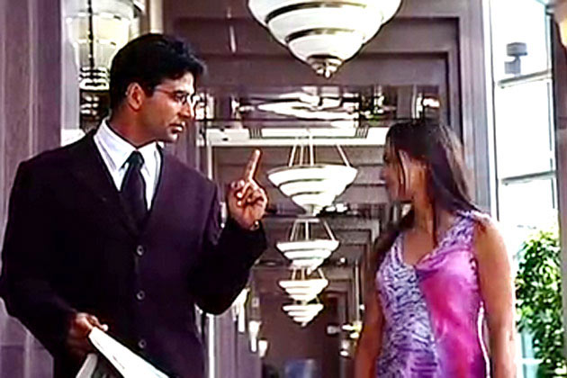 Akshay Kumar and Mahima Chaudhary in Khiladi 420